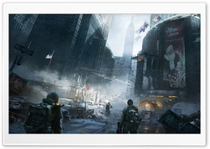 Tom Clancy's The Division Madison Square Garden HD Wide Wallpaper for Widescreen