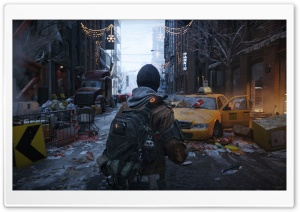 Tom Clancy's The Division New York City Street HD Wide Wallpaper for Widescreen