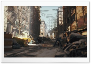 Tom Clancy's The Division The Manhattan Bridge at Sunrise HD Wide Wallpaper for Widescreen