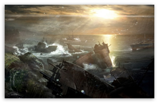 Tomb Raider 2012 Video Game - Shipwreck Vista HD wallpaper for Standard 4:3 5:4 Fullscreen UXGA XGA SVGA QSXGA SXGA ; Wide 16:10 5:3 Widescreen WHXGA WQXGA WUXGA WXGA WGA ; HD 16:9 High Definition WQHD QWXGA 1080p 900p 720p QHD nHD ; Other 3:2 DVGA HVGA HQVGA devices ( Apple PowerBook G4 iPhone 4 3G 3GS iPod Touch ) ; Mobile VGA WVGA iPhone iPad PSP Phone - VGA QVGA Smartphone ( PocketPC GPS iPod Zune BlackBerry HTC Samsung LG Nokia Eten Asus ) WVGA WQVGA Smartphone ( HTC Samsung Sony Ericsson LG Vertu MIO ) HVGA Smartphone ( Apple iPhone iPod BlackBerry HTC Samsung Nokia ) Sony PSP Zune HD Zen ; Tablet 2 Android 3 DVGA HVGA HQVGA devices ( Apple PowerBook G4 iPhone 4 3G 3GS iPod Touch ) ; Dual 4:3 5:4 16:10 5:3 16:9 UXGA XGA SVGA QSXGA SXGA WHXGA WQXGA WUXGA WXGA WGA WQHD QWXGA 1080p 900p 720p QHD nHD ;
