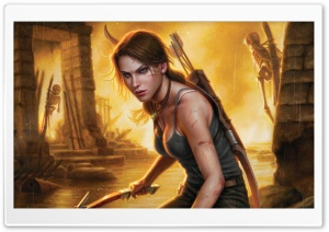 Tomb Raider 2013 Concept Art HD Wide Wallpaper for 4K UHD Widescreen desktop & smartphone