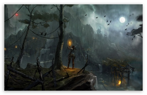 Tomb Raider 2013 Night Concept Art HD wallpaper for Standard 4:3 5:4 Fullscreen UXGA XGA SVGA QSXGA SXGA ; Wide 16:10 5:3 Widescreen WHXGA WQXGA WUXGA WXGA WGA ; HD 16:9 High Definition WQHD QWXGA 1080p 900p 720p QHD nHD ; Other 3:2 DVGA HVGA HQVGA devices ( Apple PowerBook G4 iPhone 4 3G 3GS iPod Touch ) ; Mobile VGA WVGA iPhone iPad PSP Phone - VGA QVGA Smartphone ( PocketPC GPS iPod Zune BlackBerry HTC Samsung LG Nokia Eten Asus ) WVGA WQVGA Smartphone ( HTC Samsung Sony Ericsson LG Vertu MIO ) HVGA Smartphone ( Apple iPhone iPod BlackBerry HTC Samsung Nokia ) Sony PSP Zune HD Zen ; Tablet 2 Android 3 DVGA HVGA HQVGA devices ( Apple PowerBook G4 iPhone 4 3G 3GS iPod Touch ) ; Dual 4:3 5:4 16:10 5:3 16:9 UXGA XGA SVGA QSXGA SXGA WHXGA WQXGA WUXGA WXGA WGA WQHD QWXGA 1080p 900p 720p QHD nHD ;