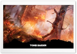 Tomb Raider (2013 Video Game) HD Wide Wallpaper for Widescreen
