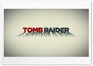 Tomb Raider 2013 White Poster HD Wide Wallpaper for Widescreen