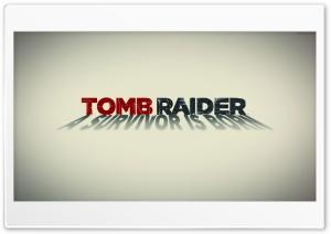 Tomb Raider 2013 White Poster