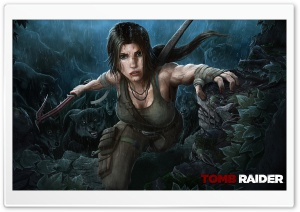 Tomb Raider 2013 Wolves HD Wide Wallpaper for Widescreen