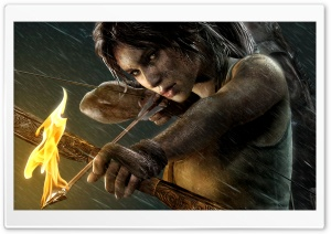 Tomb Raider HD Wide Wallpaper for 4K UHD Widescreen desktop & smartphone