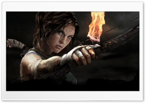 Tomb Raider HD Wide Wallpaper for Widescreen