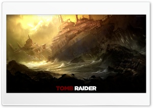 Tomb Raider - A Survivor is Born Ultra HD Wallpaper for 4K UHD Widescreen desktop, tablet & smartphone