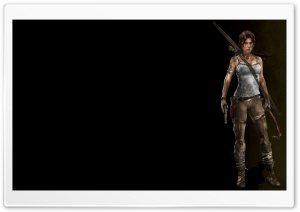 Tomb Raider A Survivor Is Born HD Wide Wallpaper for 4K UHD Widescreen desktop & smartphone