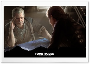Tomb Raider Captain Conrad Roth HD Wide Wallpaper for Widescreen