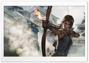 Tomb Raider Definitive Edition for Xbox One and PS4 HD Wide Wallpaper for Widescreen