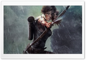 Tomb Raider Fan Art HD Wide Wallpaper for 4K UHD Widescreen desktop & smartphone