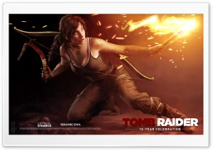 Tomb Raider Into The Darkness HD Wide Wallpaper for Widescreen