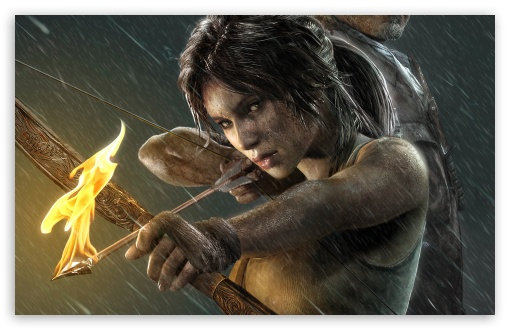 Download Tomb Raider Lara Croft HD Wallpaper
