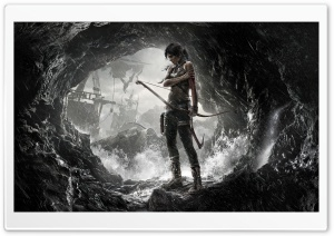 Tomb Raider Lara Croft 2013 HD Wide Wallpaper for Widescreen