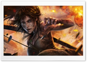 Tomb Raider Lara Croft HD Wide Wallpaper for Widescreen