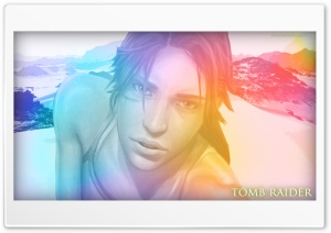 Tomb Raider Lara Croft Lights HD Wide Wallpaper for Widescreen