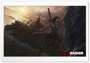 Tomb Raider Reborn HD Wide Wallpaper for Widescreen