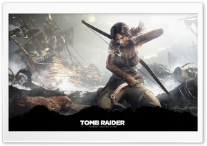 Tomb Raider Survivor (2013) HD Wide Wallpaper for 4K UHD Widescreen desktop & smartphone