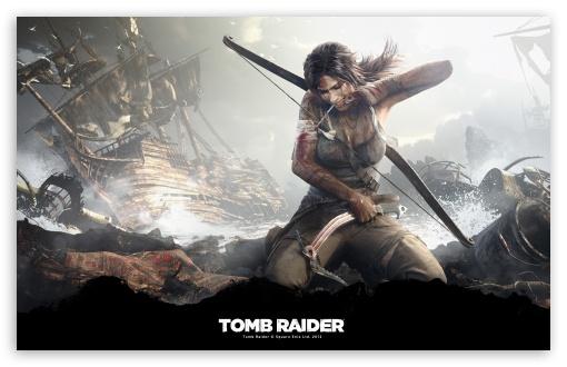 Download Tomb Raider Survivor (2013) HD Wallpaper