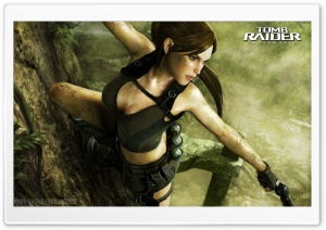 Tomb Raider Underworld HD Wide Wallpaper for 4K UHD Widescreen desktop & smartphone