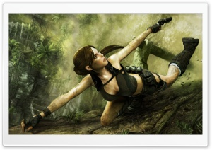 Tomb Raider Underworld 2 HD Wide Wallpaper for Widescreen