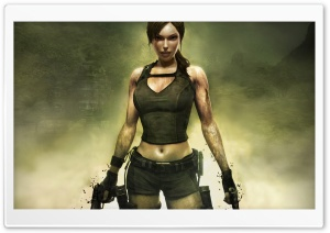 Tomb Raider Underworld 3 HD Wide Wallpaper for Widescreen