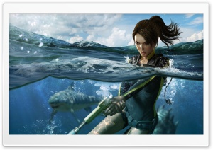 Tomb Raider Underworld 4 HD Wide Wallpaper for Widescreen