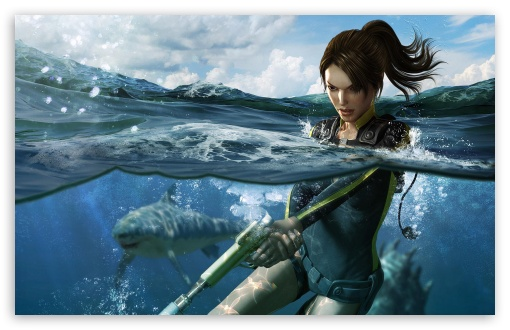 Download Tomb Raider Underworld 4 HD Wallpaper