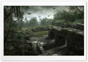 Tomb Raider Underworld Art HD Wide Wallpaper for Widescreen