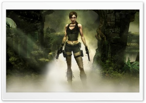 Tomb Raider Underworld Game HD Wide Wallpaper for Widescreen