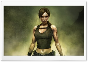 Tomb Raider Underworld Lara Croft HD Wide Wallpaper for Widescreen