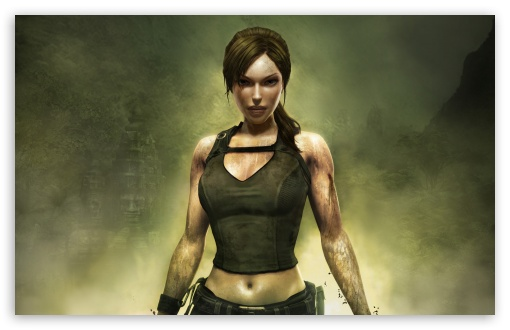 Tomb Raider Underworld Lara Croft Ultra Hd Desktop Background