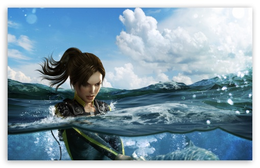 Tomb Raider Underworld Shark Attack HD wallpaper for Wide 16:10 5:3 Widescreen WHXGA WQXGA WUXGA WXGA WGA ; HD 16:9 High Definition WQHD QWXGA 1080p 900p 720p QHD nHD ; Standard 4:3 5:4 Fullscreen UXGA XGA SVGA QSXGA SXGA ; MS 3:2 DVGA HVGA HQVGA devices ( Apple PowerBook G4 iPhone 4 3G 3GS iPod Touch ) ; Mobile VGA WVGA iPhone iPad PSP Phone - VGA QVGA Smartphone ( PocketPC GPS iPod Zune BlackBerry HTC Samsung LG Nokia Eten Asus ) WVGA WQVGA Smartphone ( HTC Samsung Sony Ericsson LG Vertu MIO ) HVGA Smartphone ( Apple iPhone iPod BlackBerry HTC Samsung Nokia ) Sony PSP Zune HD Zen ; Tablet 1&2 Android Retina ; Dual 4:3 5:4 16:10 5:3 16:9 UXGA XGA SVGA QSXGA SXGA WHXGA WQXGA WUXGA WXGA WGA WQHD QWXGA 1080p 900p 720p QHD nHD ;