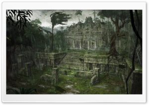 Tomb Raider Underworld Southern Mexico Xibalba HD Wide Wallpaper for Widescreen