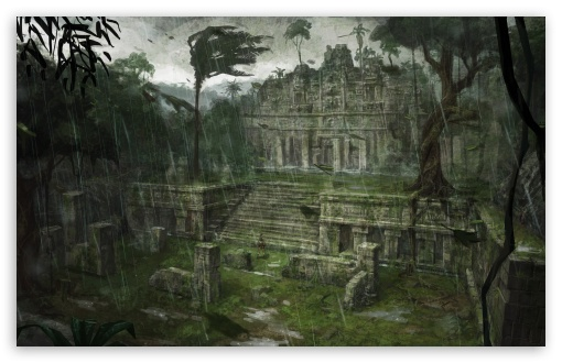 Tomb Raider Underworld Southern Mexico Xibalba HD wallpaper for Wide 16:10 5:3 Widescreen WHXGA WQXGA WUXGA WXGA WGA ; HD 16:9 High Definition WQHD QWXGA 1080p 900p 720p QHD nHD ; Mobile 5:3 16:9 - WGA WQHD QWXGA 1080p 900p 720p QHD nHD ;