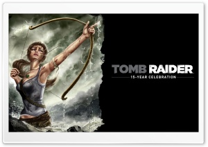 Tomb Raider Until My Last Breath I Will Fight HD Wide Wallpaper for 4K UHD Widescreen desktop & smartphone