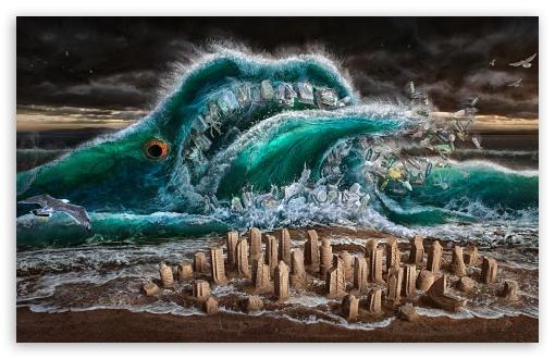 Tons of Plastic is Choking Oceans UltraHD Wallpaper for Wide 16:10 5:3 Widescreen WHXGA WQXGA WUXGA WXGA WGA ; 8K UHD TV 16:9 Ultra High Definition 2160p 1440p 1080p 900p 720p ; Tablet 1:1 ; Mobile 5:3 16:9 - WGA 2160p 1440p 1080p 900p 720p ;