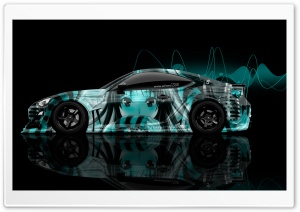 Tony Kokhan Design Toyota GT86 JDM Tuning Side Anime Girl Aerography Abstract Art Car 2018 HD Wide Wallpaper for 4K UHD Widescreen desktop & smartphone