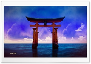 Torii HD Wide Wallpaper for 4K UHD Widescreen desktop & smartphone