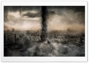 Tornado Hell HD Wide Wallpaper for Widescreen