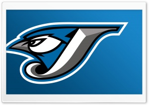 Toronto Blue Jays Cap Insignia HD Wide Wallpaper for 4K UHD Widescreen desktop & smartphone