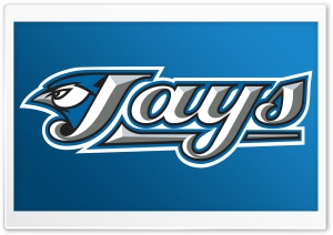 Toronto Blue Jays Logo HD Wide Wallpaper for 4K UHD Widescreen desktop & smartphone