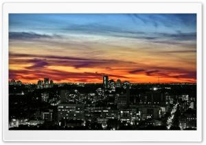 Toronto Sunset HD Wide Wallpaper for Widescreen