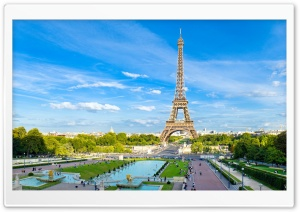 Torre Eiffel HD Wide Wallpaper for 4K UHD Widescreen desktop & smartphone