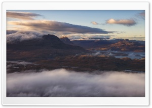 Torridon Mountains Scotland HD Wide Wallpaper for 4K UHD Widescreen desktop & smartphone