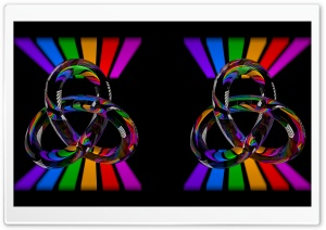 Torus Knot Crossview HD Wide Wallpaper for Widescreen