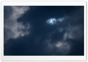 Total Solar Eclipse HD Wide Wallpaper for Widescreen