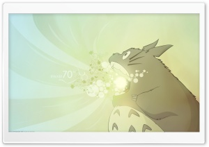 Totoro HD Wide Wallpaper for Widescreen